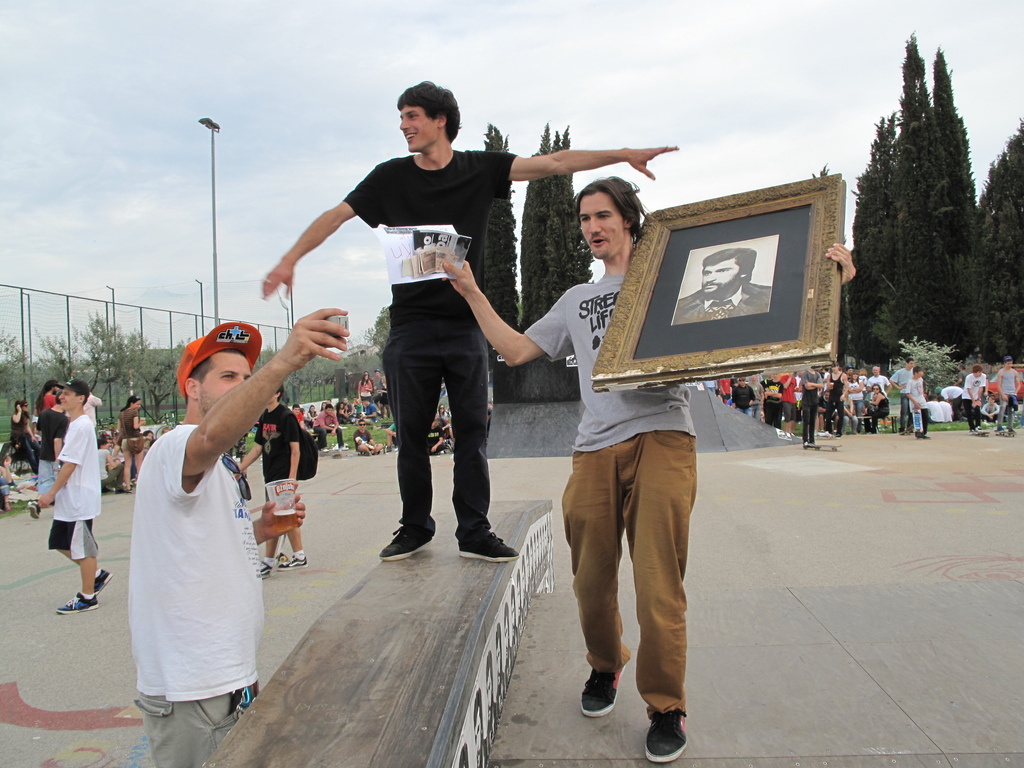 Skatewettbewerb