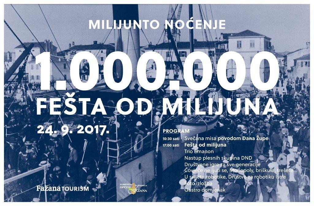 FESTA DEL MILIONE