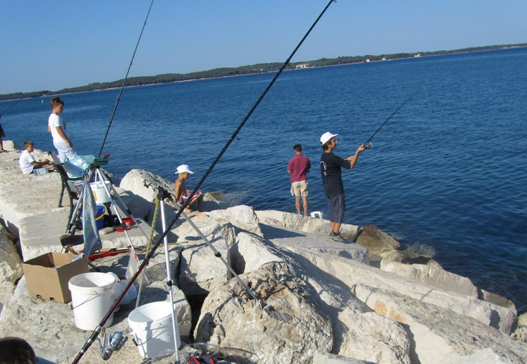 Angling club competition
