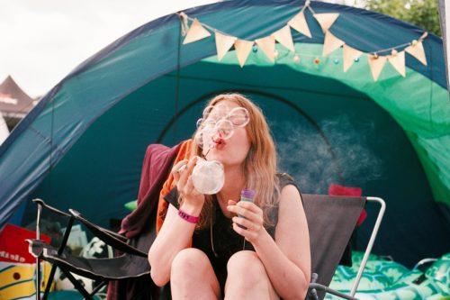 Campingplätze und Appartementsiedlungen