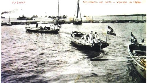 The Fažana channel in World War I