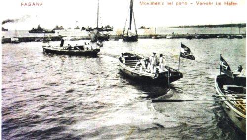 The Fažana channel in World War I