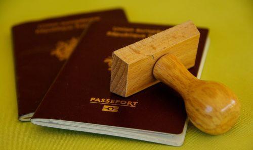 Visum und andere Vorschriften