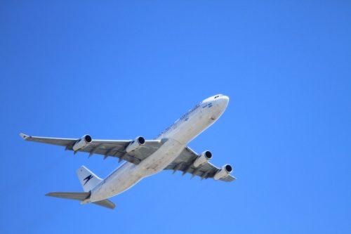 Arrivando in aereo