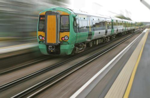 Arrivando in treno