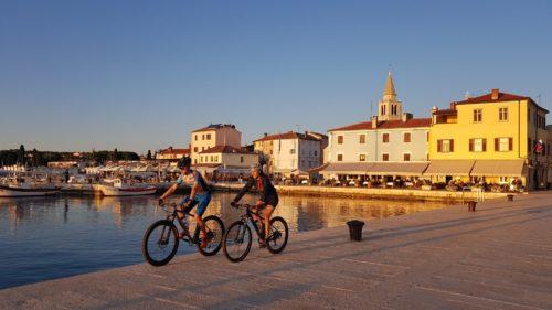 Paradiso per i ciclisti e passeggiate