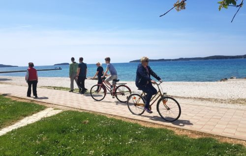 Paradise for cyclists and walking