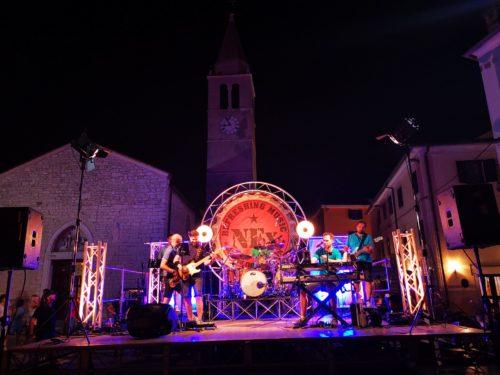 The Night Express rock koncert u Fažani