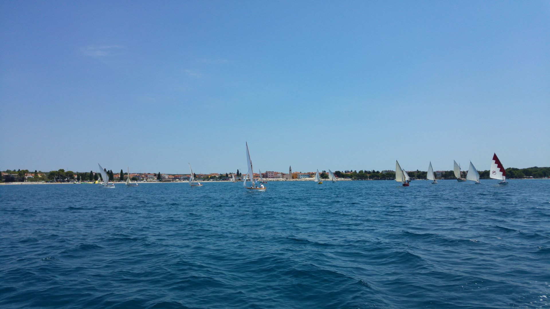 9. Fažanas Regatta/Segeln mit traditionellen Schiffen
