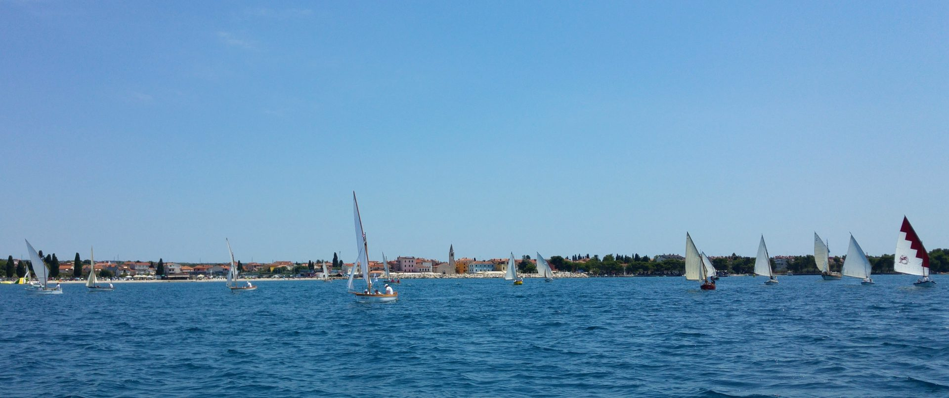 9. fažanska regata tradicijskih barki